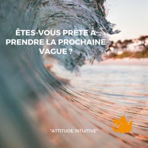 """Coaching en ligne """"Prendre la nouvelle vague"""" par Nathalie Renard, coach"""